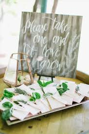 seed paper favors wedding ideas flower packets for wedding favors inspirational