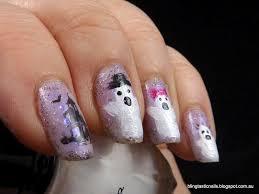 jas u0027s blingtastic nails this is halloween nail art challenge ghosts