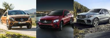 mercedes suv classes differences between the mercedes gla glc and gle