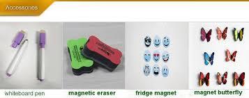 soft whiteboard rubber material flexible dry erase fridge magnet