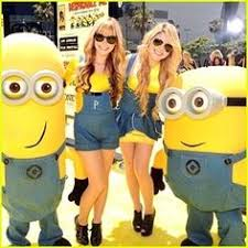 Minion Halloween Costumes Girls Despicable Clip
