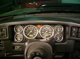 mustang custom gauges florida 5 0 1987 1993 instrument clusters