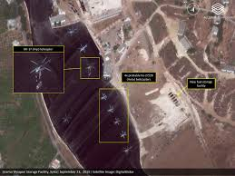 Satellite Map World Live by Satellite Imagery Shows Russian Military Expansion In Syria