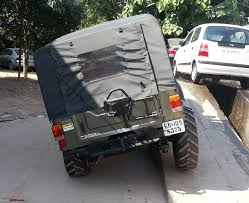 mahindra thar modified mahindra thar converted independent front suspension to solid