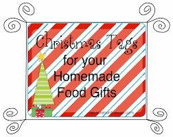 christmas neighbor gifts tags for homemade or store bought treats