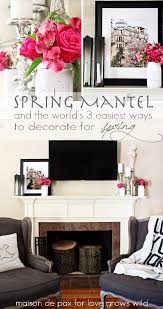 love decorations for the home easy spring decorating ideas love grows wild