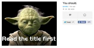 Funny Yoda Memes - chuck s fun page 2 yoda has some advice for you