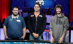 2017 world series of poker final table these are the final three players at the 2017 world series of poker