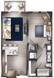 1 Bed 1 Bath Apartment Studio Apartments Nashville Peyton Stakes Luxury Apartments A1