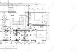 Floor Plan Blueprint House Plan Blueprint Architectural Drawing Part Of Architectural