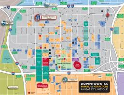 Kansas City Zip Code Map by Downtown Parking Kansas City Missouri Mo Page 4 City