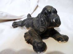 vintage cocker spaniel figurine show stance