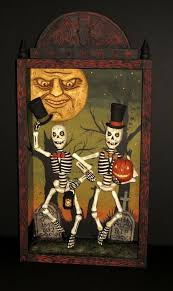 Vintage Halloween Skeleton Decorations by 93 Best Greg Guedel Studio Holiday Images On Pinterest Halloween