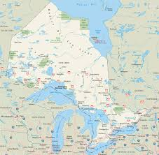 Map Of Canada With Provinces by Ontario Province Maps Canada Maps Of Ontario On Ont