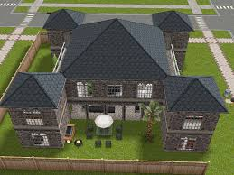 Castle Style Floor Plans by Castle Style House With Stilts And Adjacent Towers Sims Freeplay