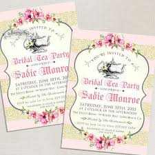 bridal tea party invitation blush pink bridal shower invitations tea party high tea bridal tea