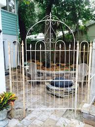 wrought iron handmade 4 u0027 wide gate for 4 u0027 tall fence