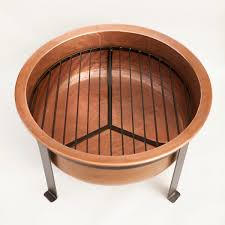Copper Firepits Pit Best Idea Copper Firepit Modern Design Thin Black