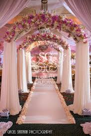 wedding arches dallas tx royal david tutera wedding archway fabric and floral mandap