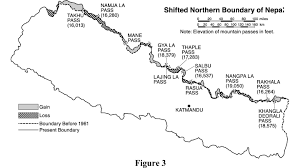 Map Of Nepal And Tibet by Shifting Borders Of Nepal Border Nepal Buddhi