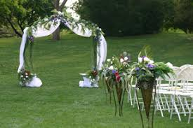 renting garden arch oklahoma city wedding unique weddings and