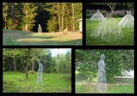 shabulous diy yard ghosts