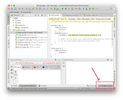 android gradle where to find gradle console in android studio forums