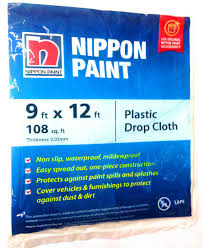 plastic drop cloth nippon m n all brands hardware shop in