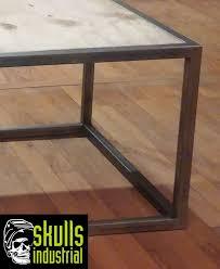 Plywood Coffee Table Steel And Plywood Coffee Table Skulls Industrial