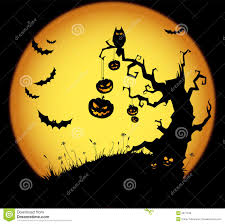 hallowen download halloween scene royalty free stock images image 5677189