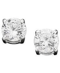 cubic zirconia stud earrings ralph cubic zirconia stud earrings jewelry