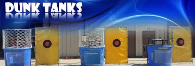 dunk tanks dunk tanks other s bouncies party rentals