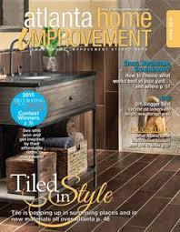 Home Renovation Magazines Atlanta Home Improvement 0412 Deck Design Living Spaces And