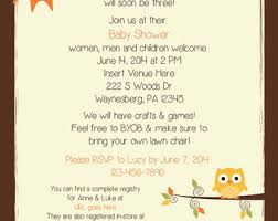 Men And Women Baby Shower - forest animal baby shower invitations woodland baby shower