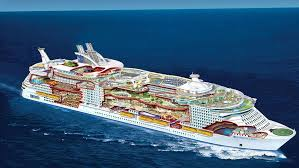 largest ship in the world take a look inside the world s largest cruise ship its so big that