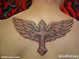 image result for cross with wings parkinson s