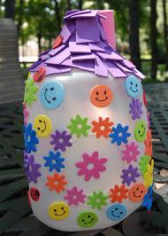 make a milk jug fairy house play dr mom