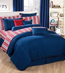 Blue Bed Set Amazon Com American Denim Comforter Set Queen Home U0026 Kitchen