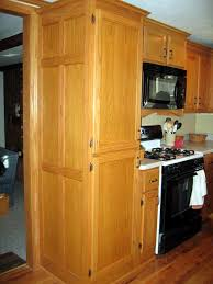 Kitchen Pantry Cabinets by Oak Kitchen Pantry Hampton Bay Hampton Assembled 18x84x24 In