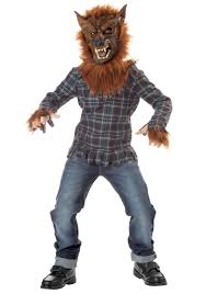 scary kids halloween costumes little wolf costume