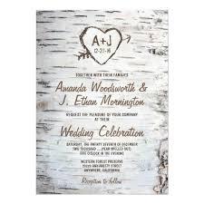 wedding invitiations wedding invitation templates zazzle tree wedding
