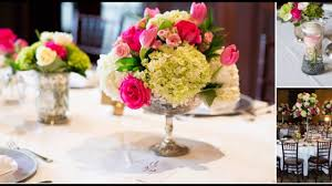 orchid centerpiece and orchid centerpiece with accents of pink and white