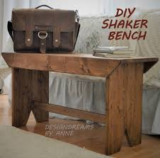 designdreams by anne diy shaker bench images on awesome diy