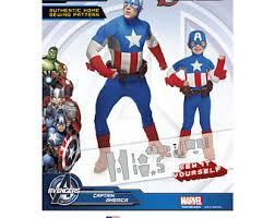 Captain America Halloween Costume Kids Avengers Costume Etsy