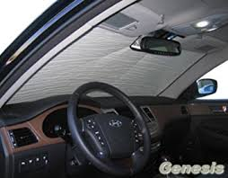 hyundai genesis sedan 2009 amazon com sunshade compatible with hyundai genesis sedan 2009
