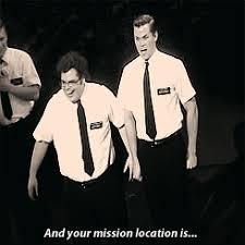 Book Of Mormon Meme - mygif andrew rannells josh gad the book of mormon elder price