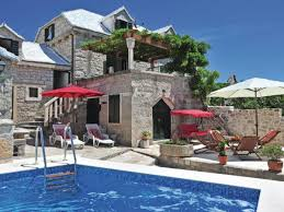 House With Pools Holiday House Villa Pergola Top Price Island Brac Central