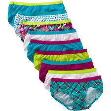 Girls Bedroom Age 9 Hanes Girls U0027 Assorted No Ride Up Cotton Hipster Panties 9 Pack