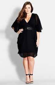 chic dress city chic sequin wrap front dress plus size nordstrom