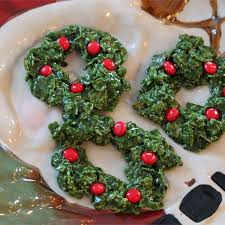christmas cornflake wreath cookies u2013 cookierecipes com